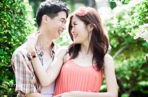 ถ่ายรูป Pre-Wedding – J&P (สวนนงนุช)