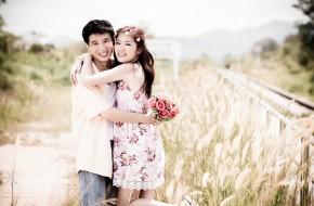 ถ่ายรูป Pre-wedding J&P (ทุ่งหญ้า)
