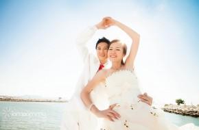 ถ่ายรูป Pre-wedding – J&P (ทะเล)