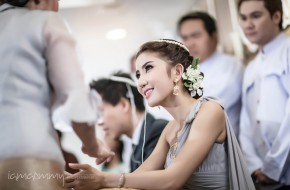 Wedding Ceremony : พิธีหมั้น มณีจันทร์ รีสอร์ท จ. จันทบุรี