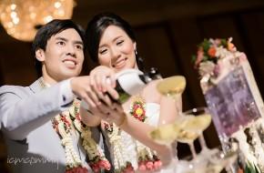 Wedding Reception : Fai&Ake @Swissotel Le Concorde