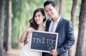 Pre Wedding ทะเล – Tik & Tom