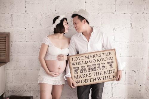 ถ่ายภาพครอบครัว_ถ่ายรูปคุณแม่ตั้งครรภ์