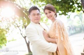 ถ่ายภาพแต่งงานพิธีเช้า : ELLE & NUT